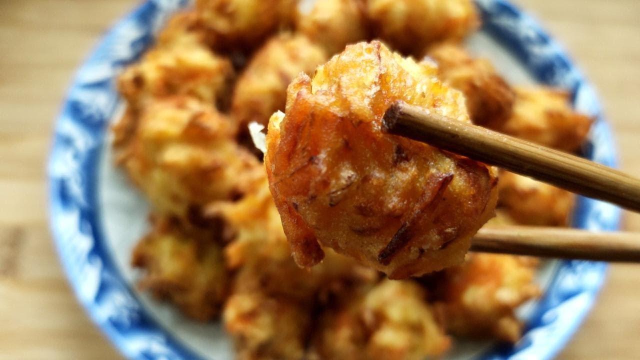 酥炸萝卜丸子,萝卜最好吃的做法,比肉丸还香【俊宝美食】
