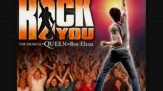 Musical - We Will Rock You ( Who Wants To Live Forever )
