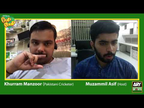 Khurram Manzoor speaks his heart out