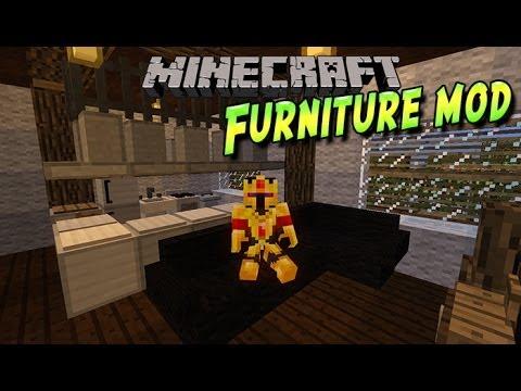 Fr Mrcrayfish 39 S Furniture Pr Sentation De Mods Minecraft 1 7 2 Youtube
