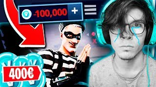 I've BEEN TRIED TO ROB *400* at FORTNITE 😡😭 (REAL CASE) BEWARE OF HACKERS!!