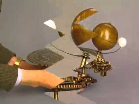 model of our solar system,PARKES AND HADLEY'S PATENT ORRERY