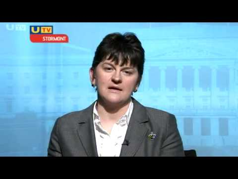 Interview with Arlene Foster 11th January 2009