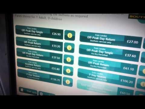 Top Five Train Ticket Machine Nightmares