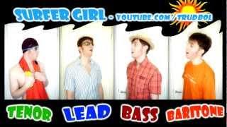 Surfer Girl (Beach Boys) - A CAPPELLA cover by Trudbol (Julien Neel)