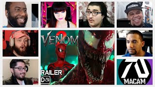 """""""This might be the best fan made trailer..."""" Reactors Reaction to VENOM 2 fan made TRAILER"""