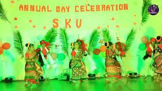 SAMBALPURI DANCE .....KETE HALDI MAKHUCHO GO