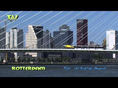 Skyline Rotterdam - Nieuwe Maas Noord