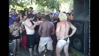Festa no rio Itapecuru em Fortuna-MA