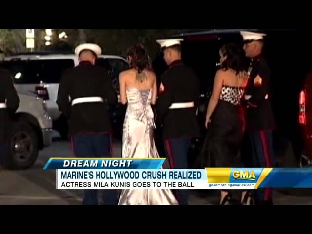 Mila Kunis Attends Military Gala