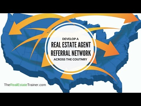 Develop a Real Estate Agent Referral Network