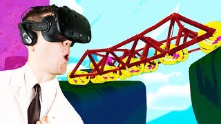 Giant Vehicle Contraptions! - Fantastic Contraption Gameplay - VR HTC Vive