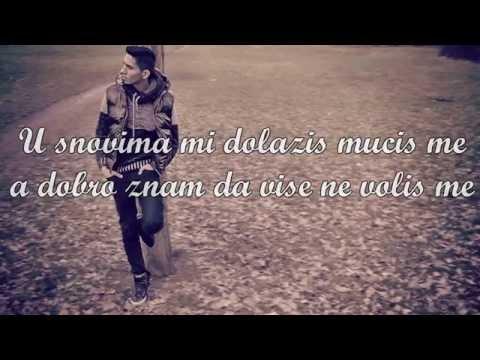 ANHELLITO - ZASTO MI TO RADIS - [LYRICS VIDEO] 2015