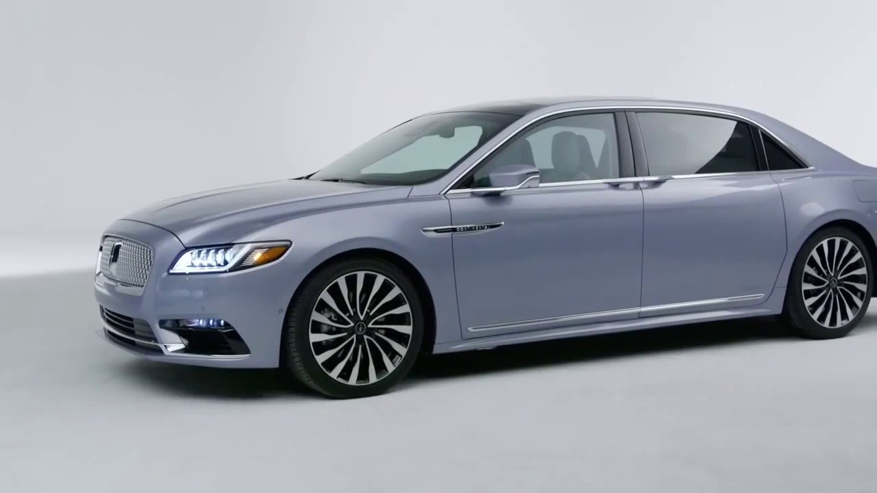 2020 The Lincoln Continental Images