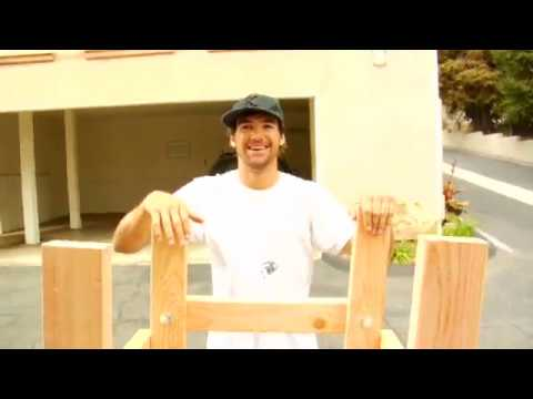 How to build a snowboard drop-in ramp | ASN