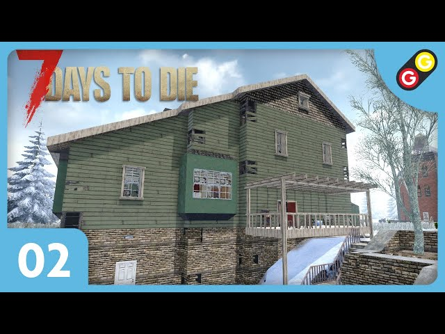 7 Days to Die - Let's Play 2 #02 On choisit notre base ! [FR]