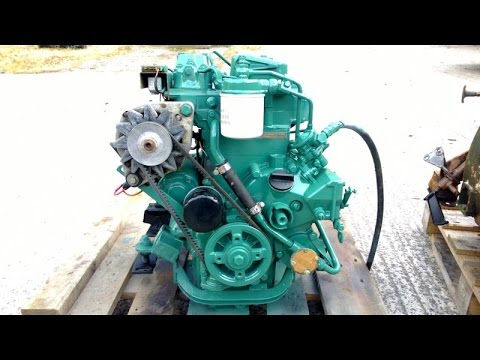For Sale: Volvo Penta 2001 9hp Marine Diesel Engine Package - GBP 1,395
