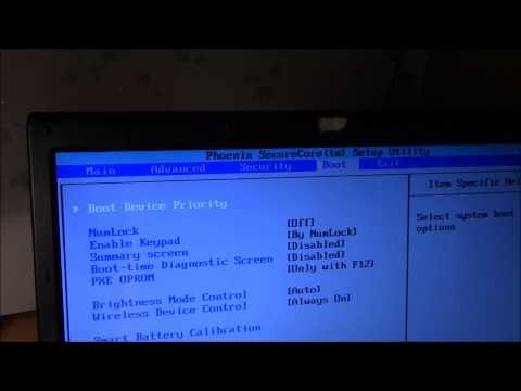Удаляю Windows 8.1 и устанавилваю Windows 7 на ноутбуке Samsung R 519