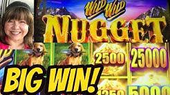 BIG WIN! NEW GAME WILD WILD NUGGET