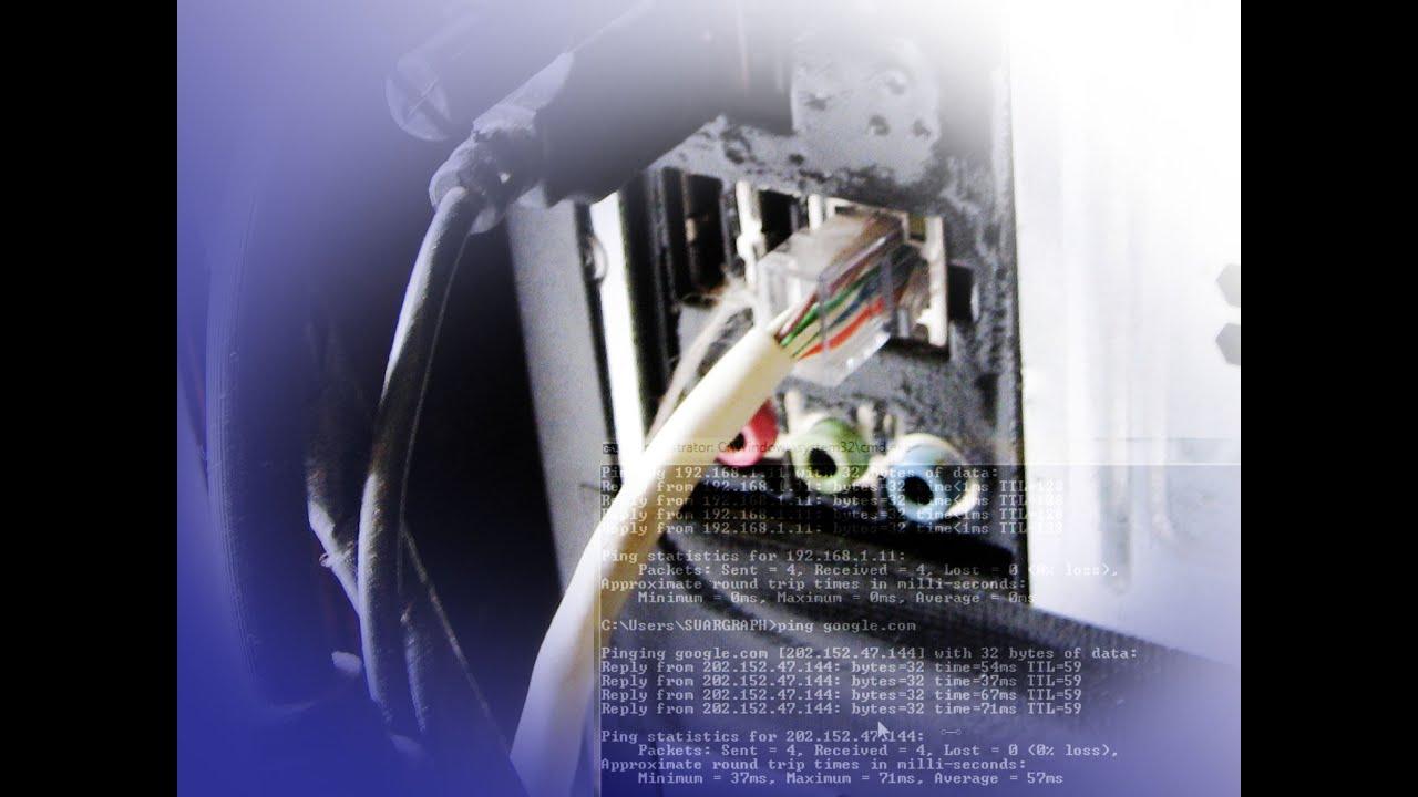 LAN Configuration Setup of the Internet Cafe Network YouTube – Internet Cafe Wiring Diagram
