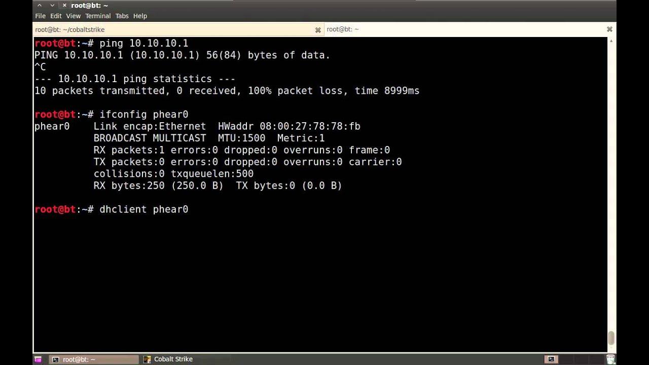 Covert VPN - Cobalt Strike
