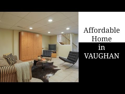 Affordable House in Vaughan, really!!