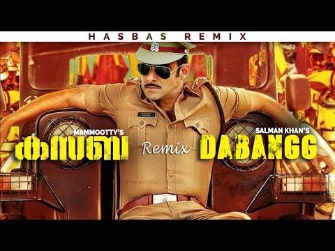 Kasaba Teaser Remix Dabangg 😎 [4K Ultraᴴᴰ] ◾ Mammootty, Salman Khan | HasBas Bros. Studios