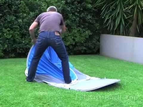 & Anaconda ComOcean Minke Sunshade Packing Instructions - YouTube