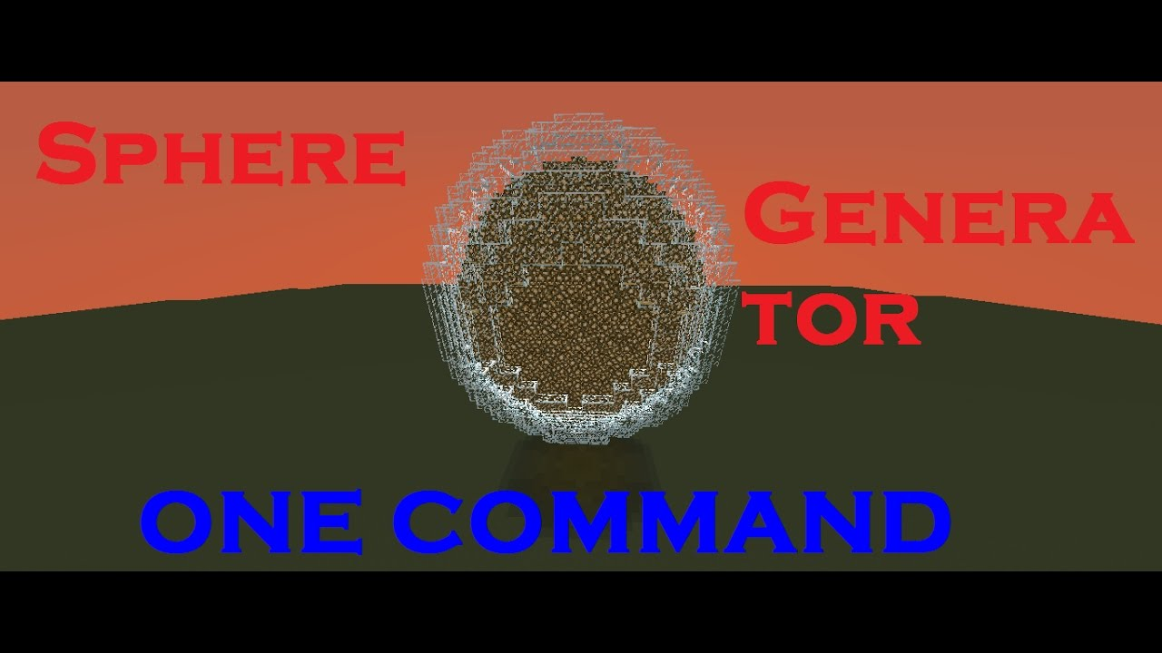 circle minecraft command science