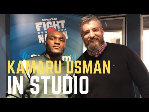 Kamaru Usman In Studio: 'Marty From Nebraska' Talk, Facing Tyron Woodley and More | SiriusXM