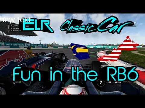 F1 2017 - ELR Classic Cars Cup - Round 1 Malaysia