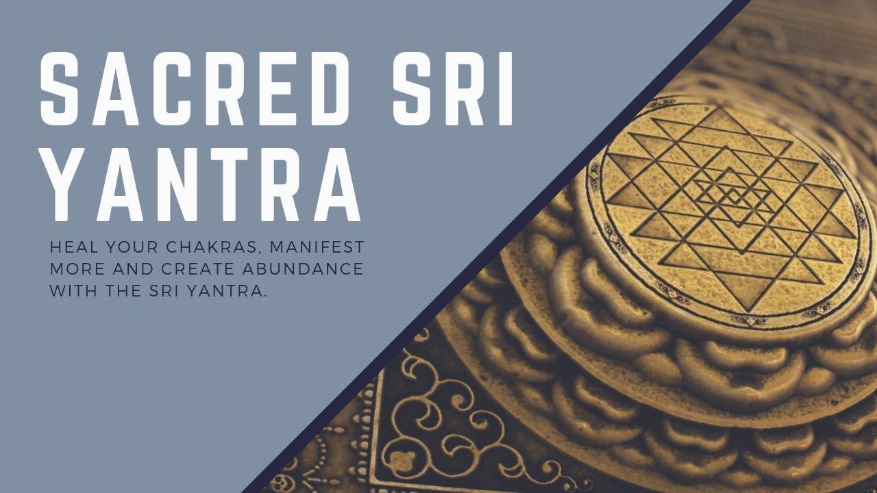 Sacred Sri Yantra Locket Pendant Necklace