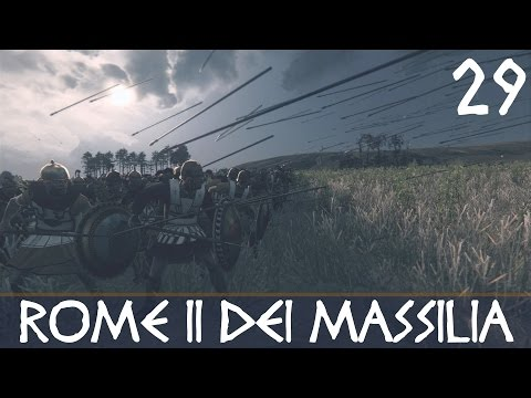 Rome II (DEI): Massilia Episode 29 - Irish Sea Turkey Shoot