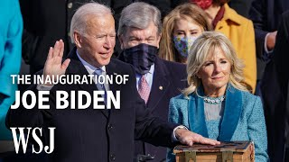 2021 Inauguration of Joe Biden and Kamala Harris | WSJ