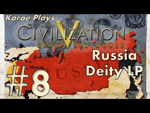 """Civ V BNW Deity Let's Play as Russia :: Part 8 - """"Lisbon trading hands"""""""