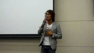 2009年6月30日。 北浜フォーラムにて開催の「伝説のホテル・鶴岡...