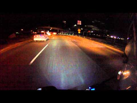 Boston Taxi Driver cutting into my lane with my 2008 Yamaha R1