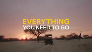 Everything you need to go - Safari