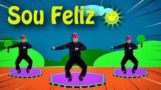 Turma Kids e Cia - SOU FELIZ 🔴(Funk Infantil)