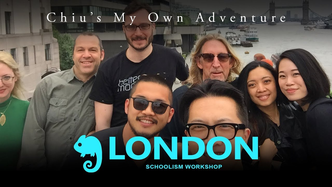 Schoolism LIVE London and Crash's Wheel of Death!