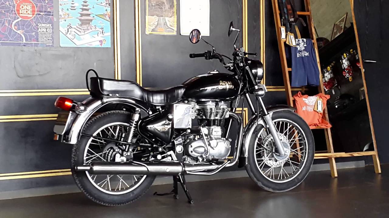 Royal Enfield Electra 350cc Black Color4k Youtube