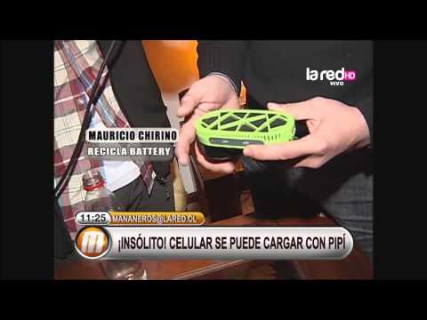 Celular se puede cargar con orina