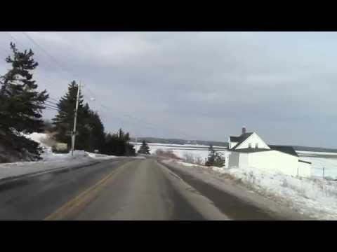 Driving Nova Scotia Route 207 (Real Time)