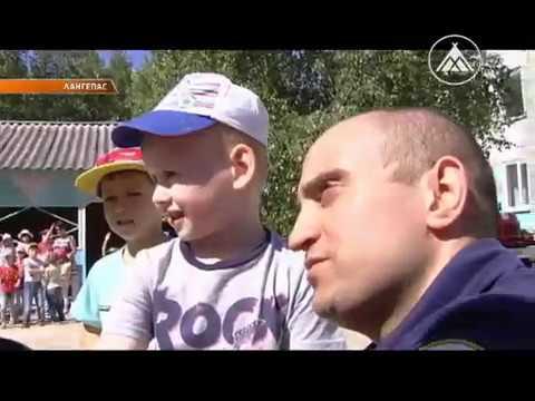 Акция пожарных в детском саду