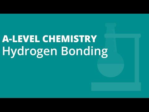 Hydrogen Bonding   A-level Chemistry   AQA, OCR, Edexcel