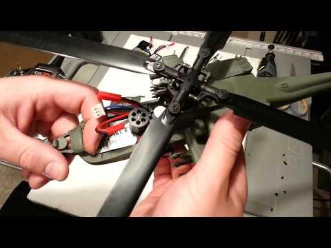 Horizon Hobby - AH-64 Apache Micro - Lipo Hatch Mod for Bigger Lipos