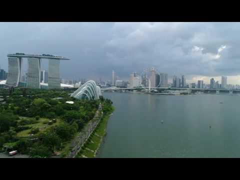Singapore fly by Phantom 4 pro