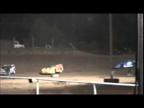 Super Late Model Heat #3 from Ohio Valley Speedway 8/9/14.