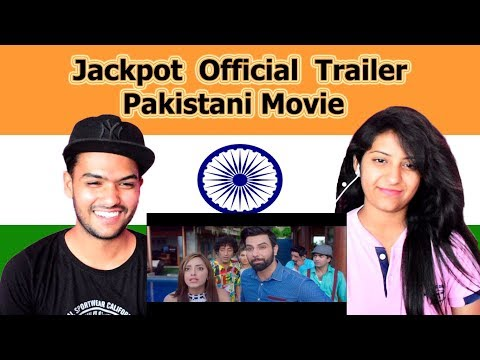 Indian reaction on Jackpot Trailer | Pakistani Movie 2018 | Swaggy d