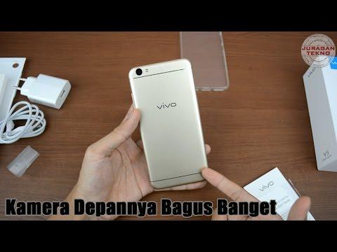 Unboxing Vivo V5 : 20MP Kamera Depan! Indonesia (Juragan Tekno)